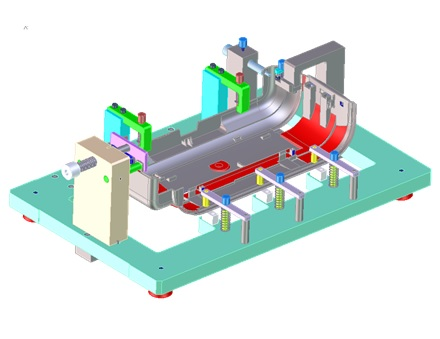 Mô hình đồ gá kiểm được dùng cho ngành công nghiệp